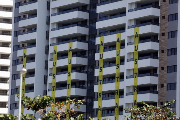 L'immeuble censé accueillir la délégation australienne à Rio