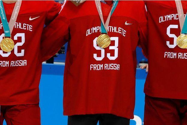 La Russie a remporté l'or en finale du hockey masculin.