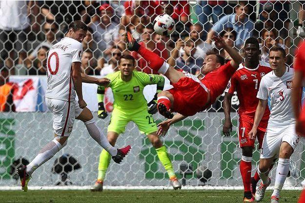 Shaqiri a marqué le but de ce début d'Euro