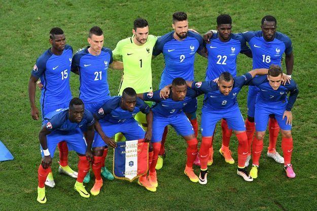 L'équipe de France face à l'Allemagne jeudi dernier