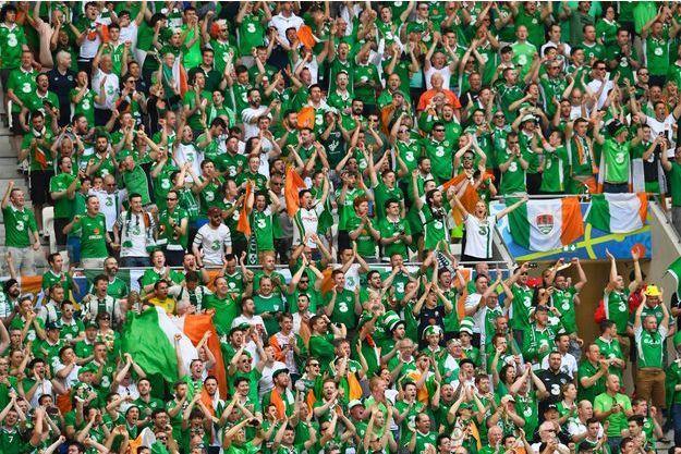 Les supporters irlandais vont recevoir une médaille