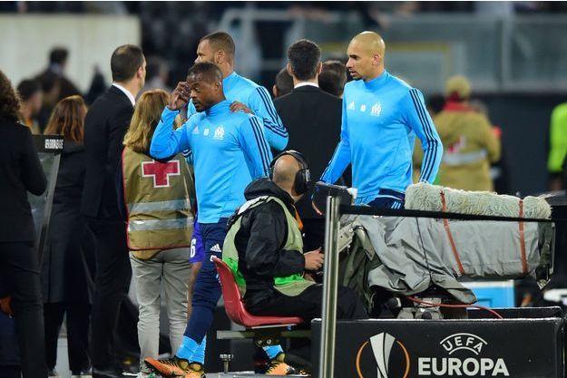 Patrice Evra a été expulsé avant la rencontre.