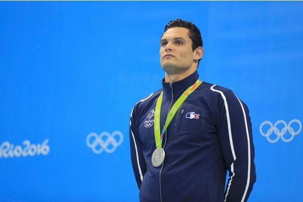 Florent Manaudou, médaillé d'argent à Rio.