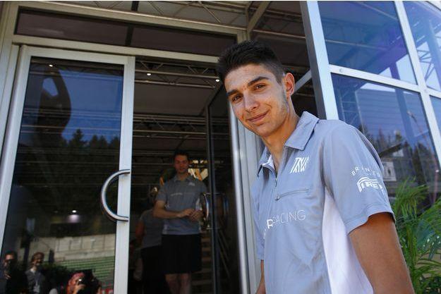 Esteban Ocon, 19 ans, prendra le départ de son premier Grand prix de Formule 1 dimanche.
