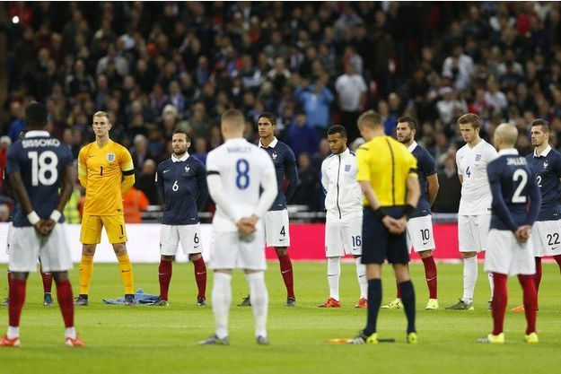 Après les attentats du 13 novembre, le stade de Wembley avait honoré les victimes.