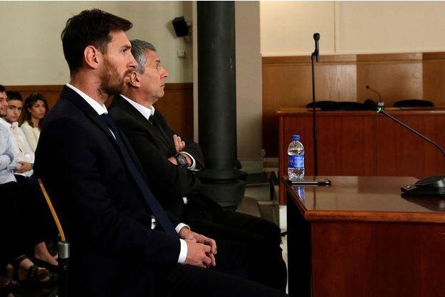 Lionel Messi devant les juges