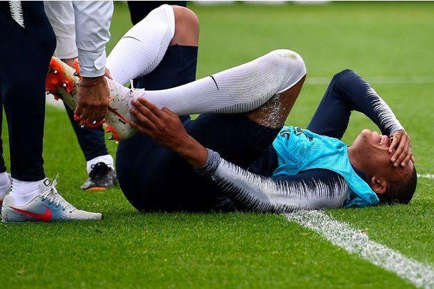 Kylian Mbappé s'était effondré à l'entraînement mardi.