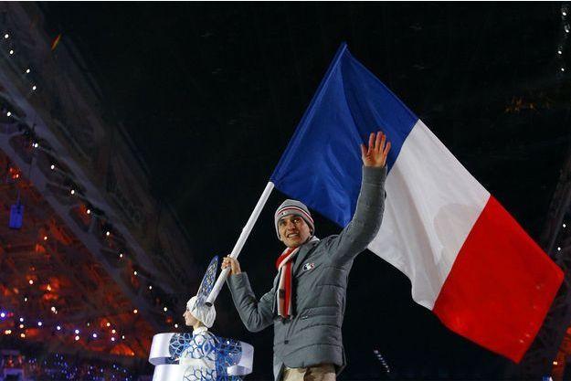 Jason Lamy Chappuis, porte-drapeau français à Sotchi