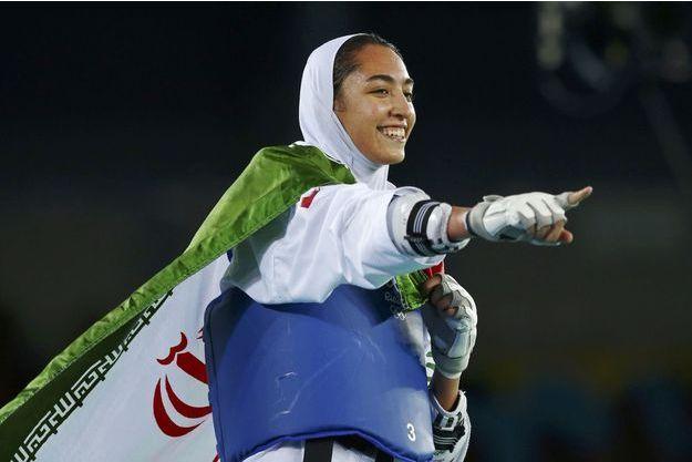 Kimia Alizadeh est devenue jeudi la première iranienne médaillée olympique.
