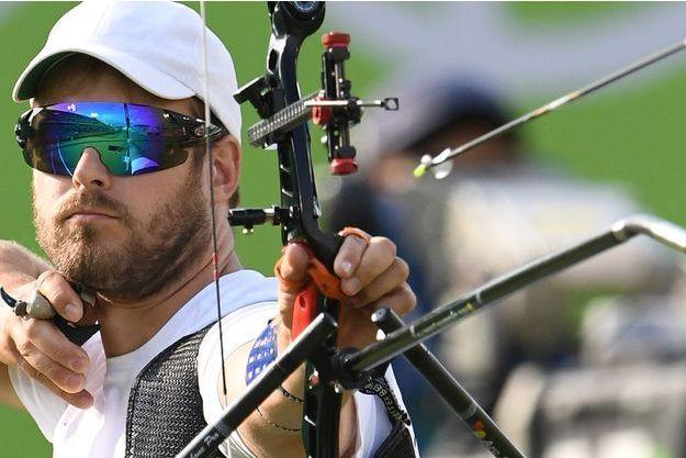 L'archer Jean-Charles Valladont a remporté la médaille d'argent