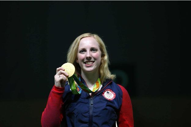 La première médaille d'or est revenue à l'Américaine Virginia Thrasher.