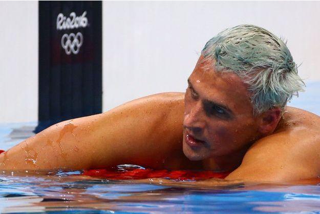 Ryan Lochte, à Rio.