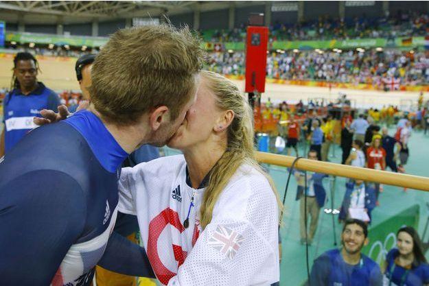 Le couple en or du cyclisme sur piste
