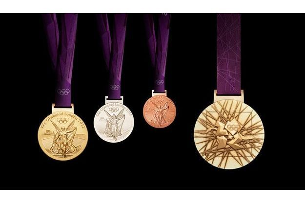 Les médailles les plus convoitées de 2012.