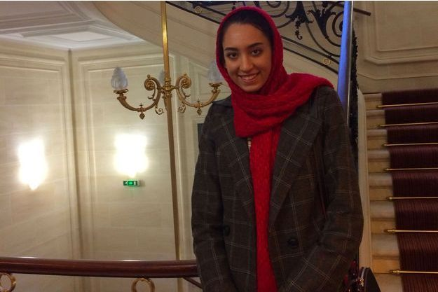 Kimia Alizadeh était à Paris, la semaine dernière.
