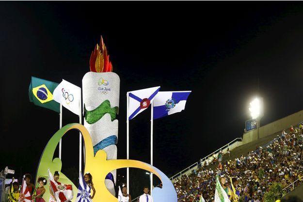 Les Jeux olympiques, stars du défilé à Rio.