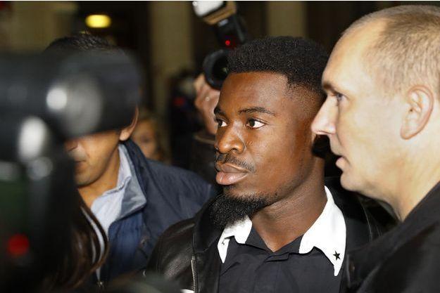 Le défenseur du PSG Serge Aurier.