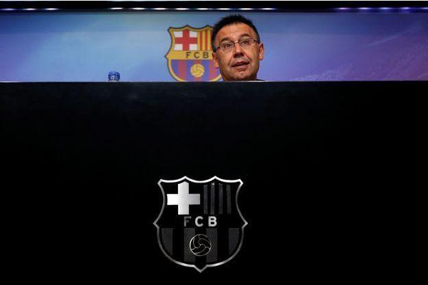 Josep Maria Bartomeu, le président du FC Barcelone.