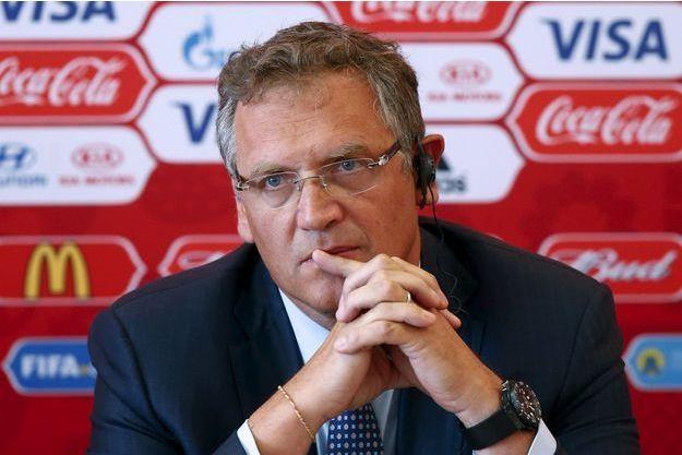 Jérôme Valcke vient d'être démis de ses fonctions de secrétaire général de la Fifa.