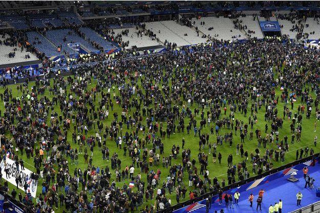 Le Stade de France a été évacué dans le calme.