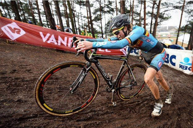 La cycliste belge risque gros