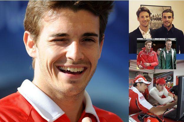 Jules Bianchi, et quelques-unes des photos hommages publiées sur Twitter.