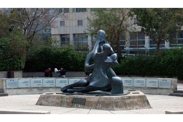 """Le memorial en la mémoire des victimes de """"Septembre noir"""", à Tel Aviv."""