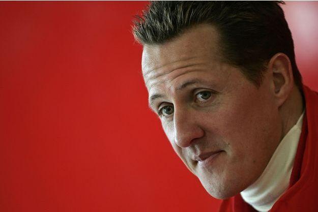 Michael Schumacher a été victime d'un accident de ski en décembre 2013 (photographié en janvier 2006).