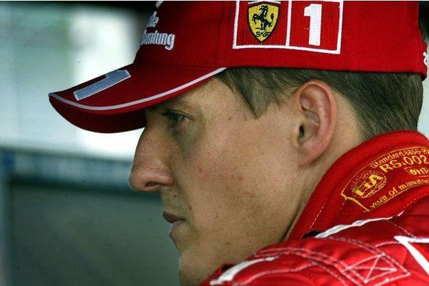 Michael Schumacher, en août 2003.