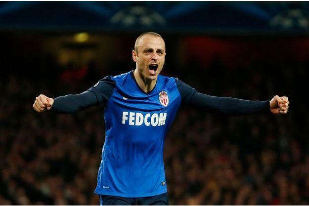 Dimitar Berbatov a inscrit le deuxième but de Monaco.
