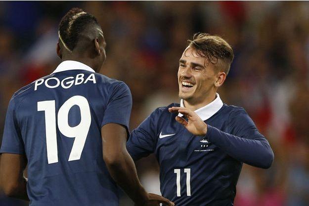 Paul Pogba et Antoine Griezmann