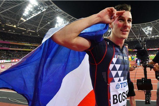 Pierre-Ambroise Bosse a été sacré champion du monde mardi.