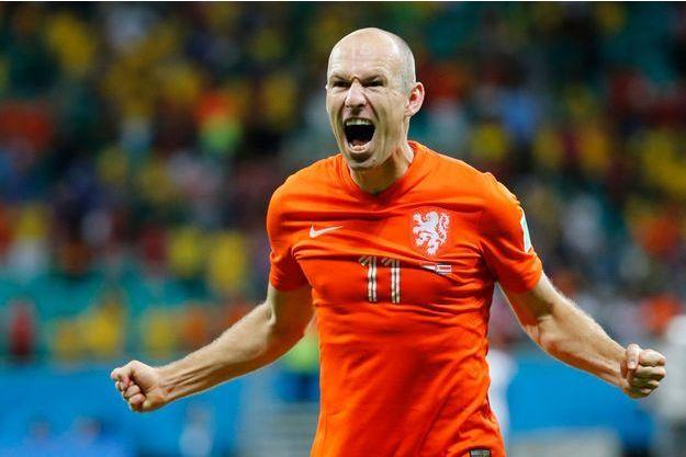 Arjen Robben a déjà inscrit trois buts lors de la Coupe du Monde.