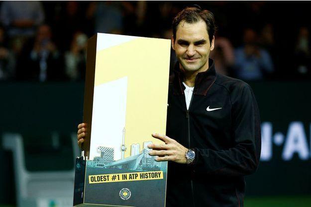Roger Federer est redevenu numéro 1 lors du tournoi de Rotterdam.