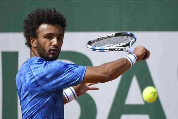 Maxime Hamou à Roland Garros, le 29 mai.