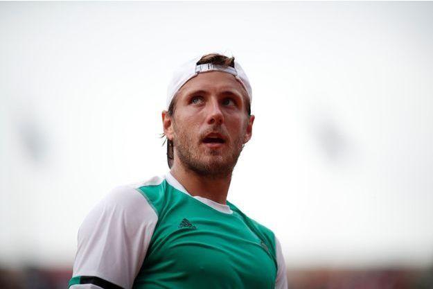Lucas Pouille à Roland-Garros, le 2 juin 2017.