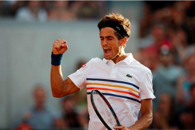 Pierre-Hugues Herbert à Roland-Garros, le 2 juin 2018.