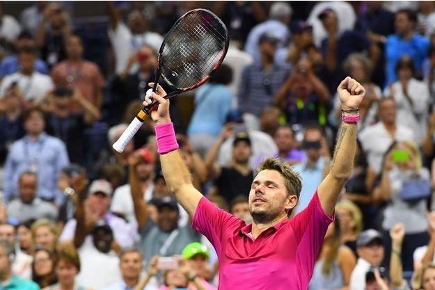 Stanislas Wawrinka a remporté l'US Open face à Novak Djokovic