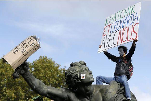 De nouvelles manifestations de lycéens et étudiants sont prévues.