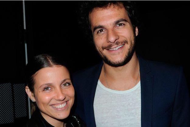 Amir Haddad et sa femme Lital