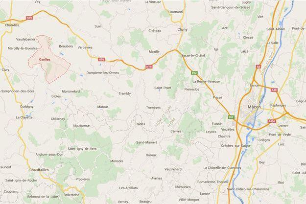 L'homme a passé dix-neuf heures dans un trou à Ozolles, en Saône-et-Loire.