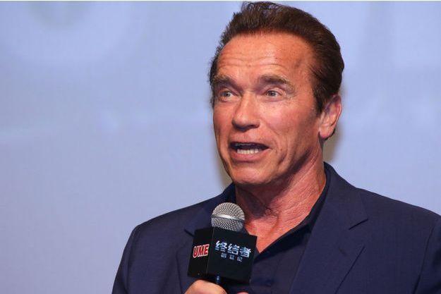L'acteur de Terminator le 19 août à Shanghai