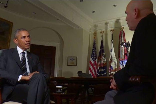 """Le président des Etats-Unis, Barack Obama, a interviewé le créateur de """"The Wire"""" pour montrer la nécessité d'une réforme du système de justice."""