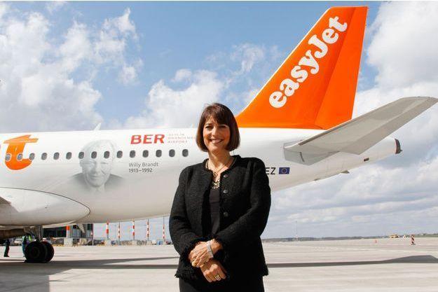 Carolyn McCall, patronne de la compagnie EasyJet.