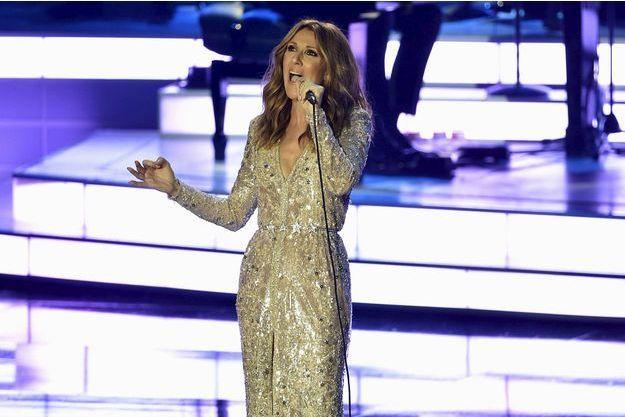 Céline Dion le 28 août 2015