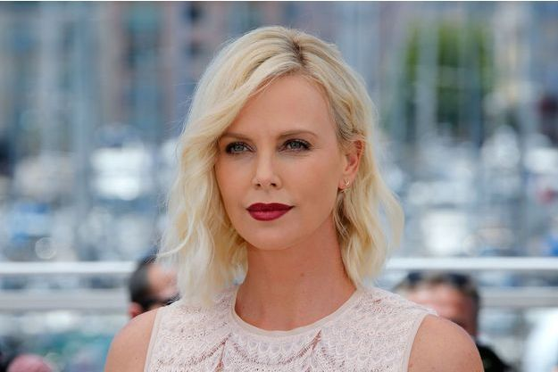 "Charlize Theron à Cannes pour le film ""The last face"", 2016."