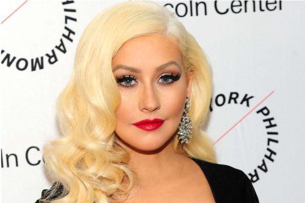 Christina Aguilera le 4 décembre 2015