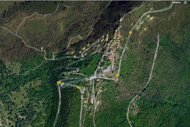 Le double meurtre a eu lieu dans le village de Poggio-di-Venaco