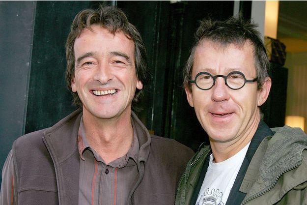 """Frédéric Courant et Jamy Gourmaud ont animé ensemble """"C'est pas sorcier"""" sur France 3 pendant 20 ans."""