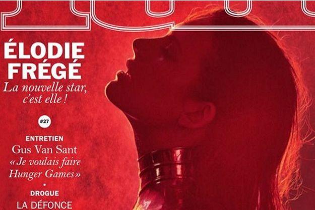 Elodie Frégé, 4 avril 2016.